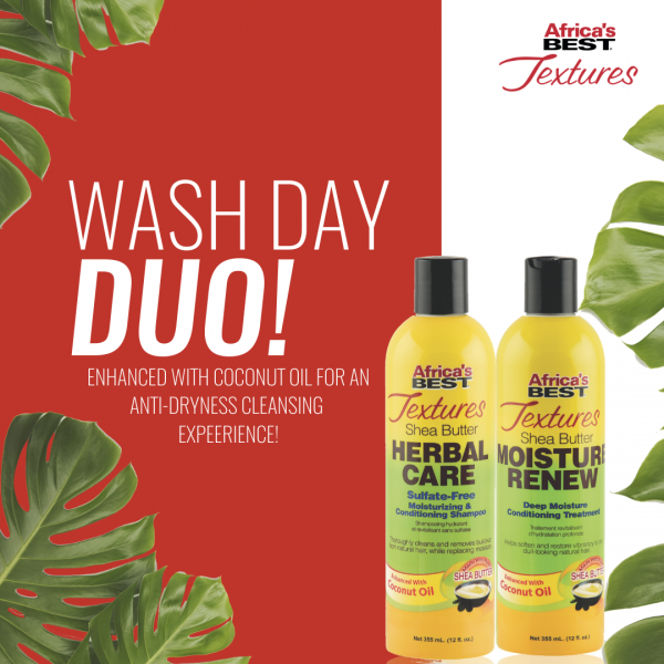 Africa's Best Textures - Wash Day Duo!