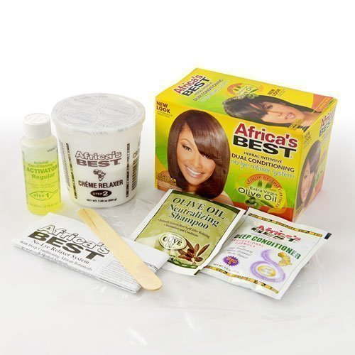 No-Lye Relaxer Kit-Regular