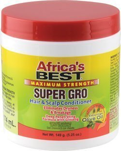 Maximum Strength Super Gro Hair & Scalp Conditioner