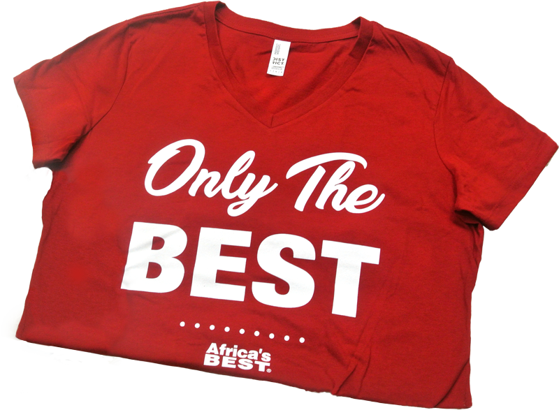 T-Shirt Free Gift - Africa's Best