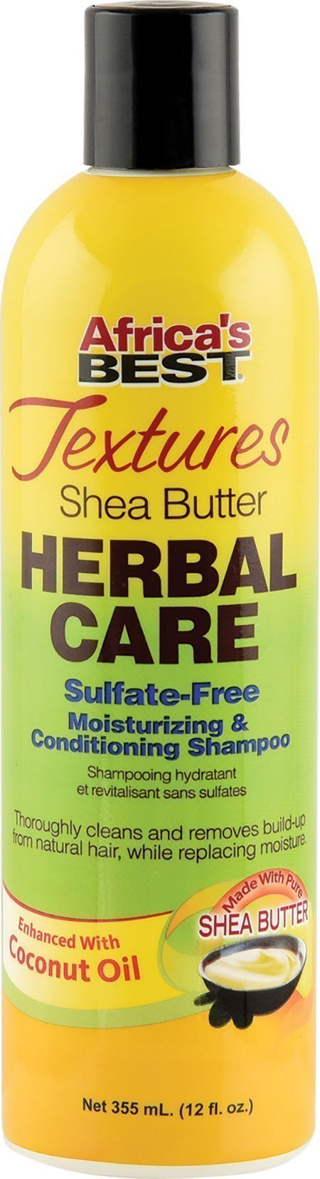 Shea Butter Herbal Care Sulfate-Free Moisturizing & Conditioning Shampoo
