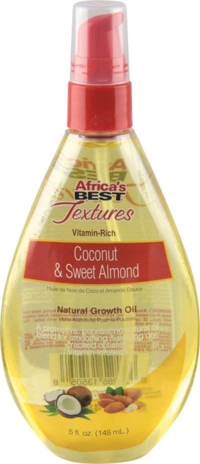 Coconut & Sweet Almond Natural Growth Oil