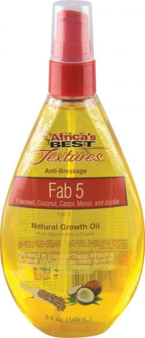 Fab 5 Natural Growth Oil