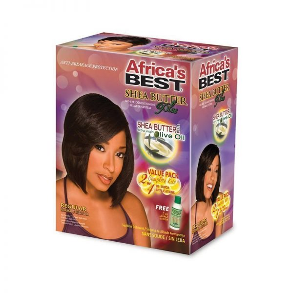 Shea Butter Relaxer Kit Regular
