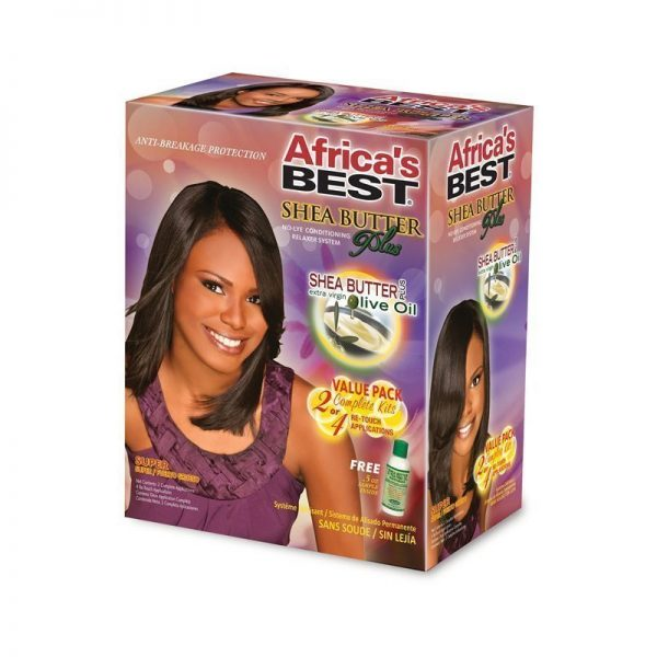Shea Butter Relaxer Kit Super