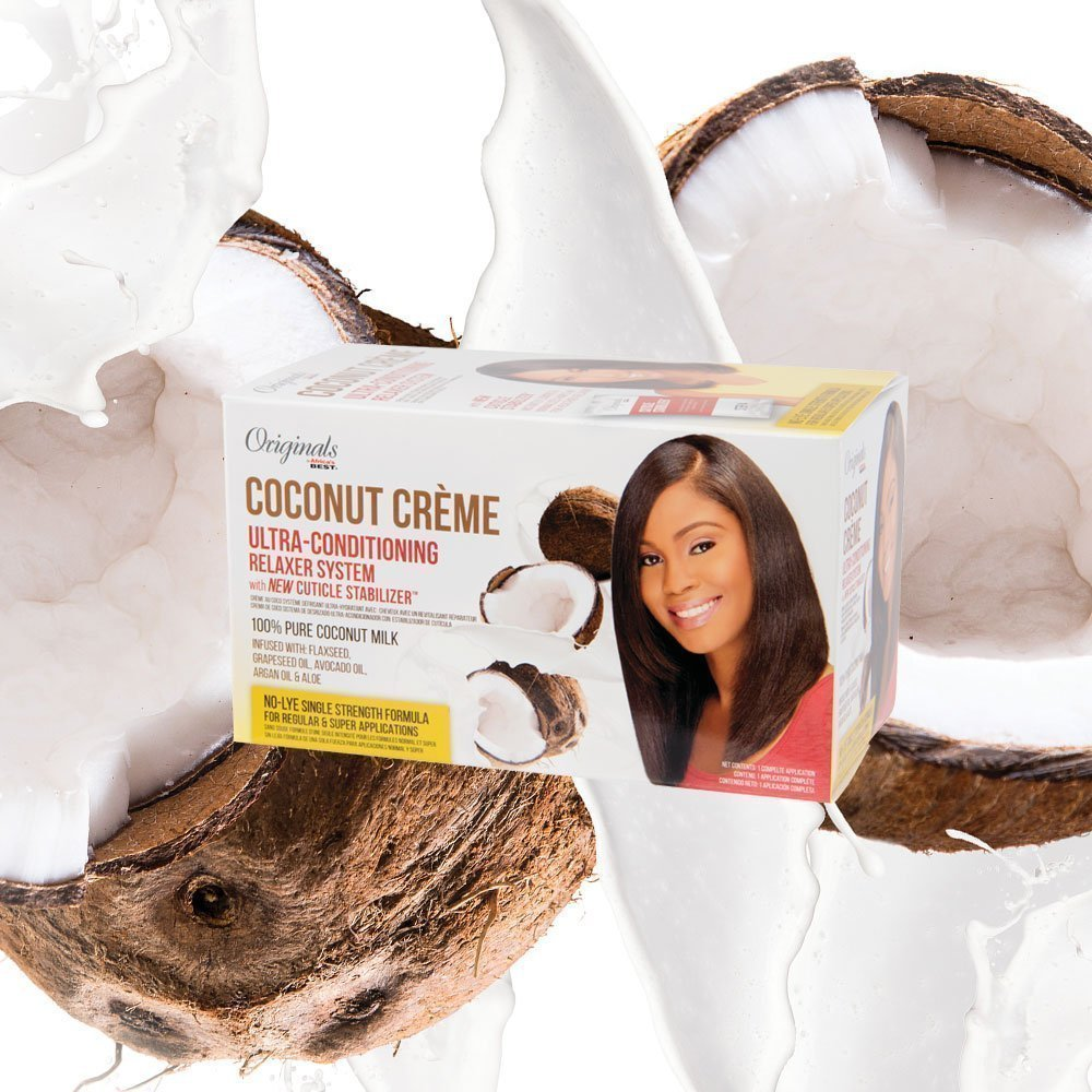 Coconut Crème Collection - Ultra-Conditioning Relaxer System