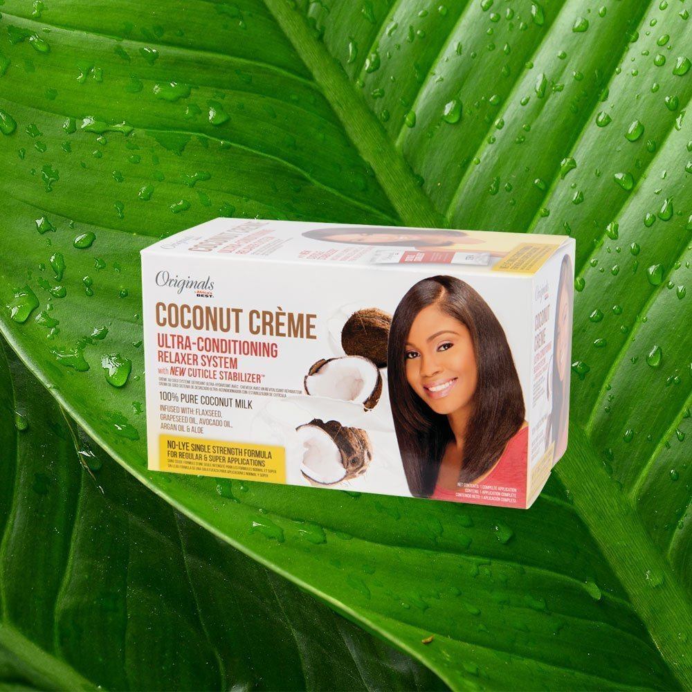Coconut Creme Relaxer Kit
