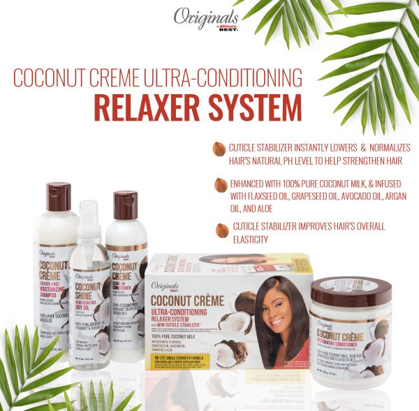 Coconut Crème Ultra-Conditioning Relaxer Combo 2