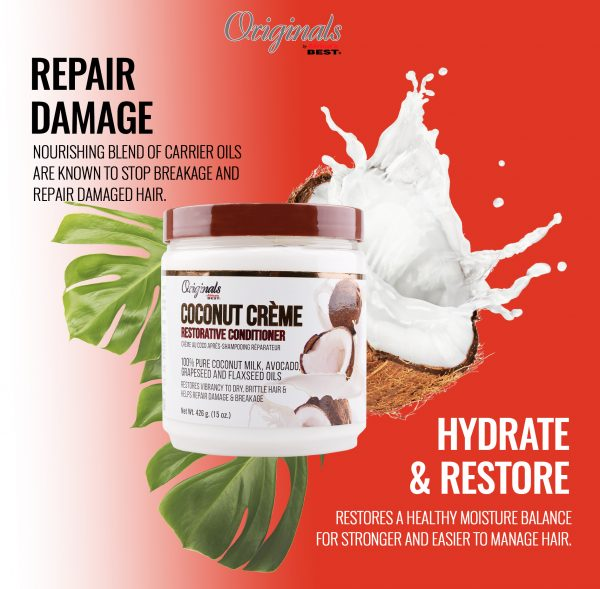 Coconut Crème Ultra-Conditioning Relaxer Combo 6