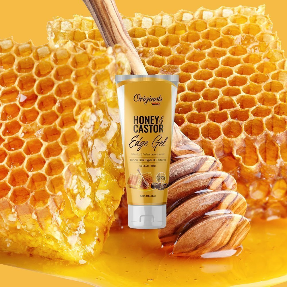 Honey & Castor Edge Gel
