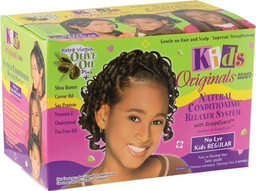 Natural Conditioning Relaxer System with Scalpguard (Regular Kit ...