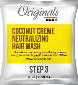 Coconut Creme Neutralizing Hair Wash