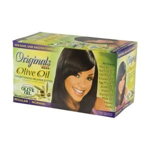 Olive Oil Relaxer Kit (Regular)