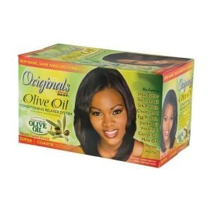 Olive Oil Relaxer Kit (Super)