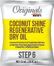 Coconut Creme Regenerative Dry Oil
